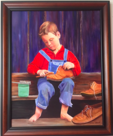 The shoeshine boy