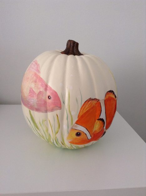 Pumpkin The Fishes