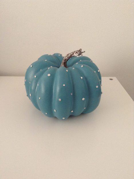 Pumpkin Turquoise