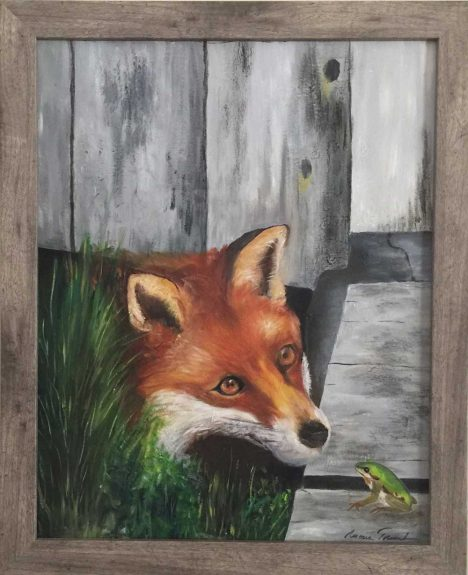 The fox and the frog